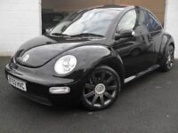 "VW BEETLE 1.9 TDI PD 100 18"" ALLOYS MOT+FSH+NEW CAMBELT+WATER PUMP+SERVICE+DISCS & PADS HPI CLEAR"
