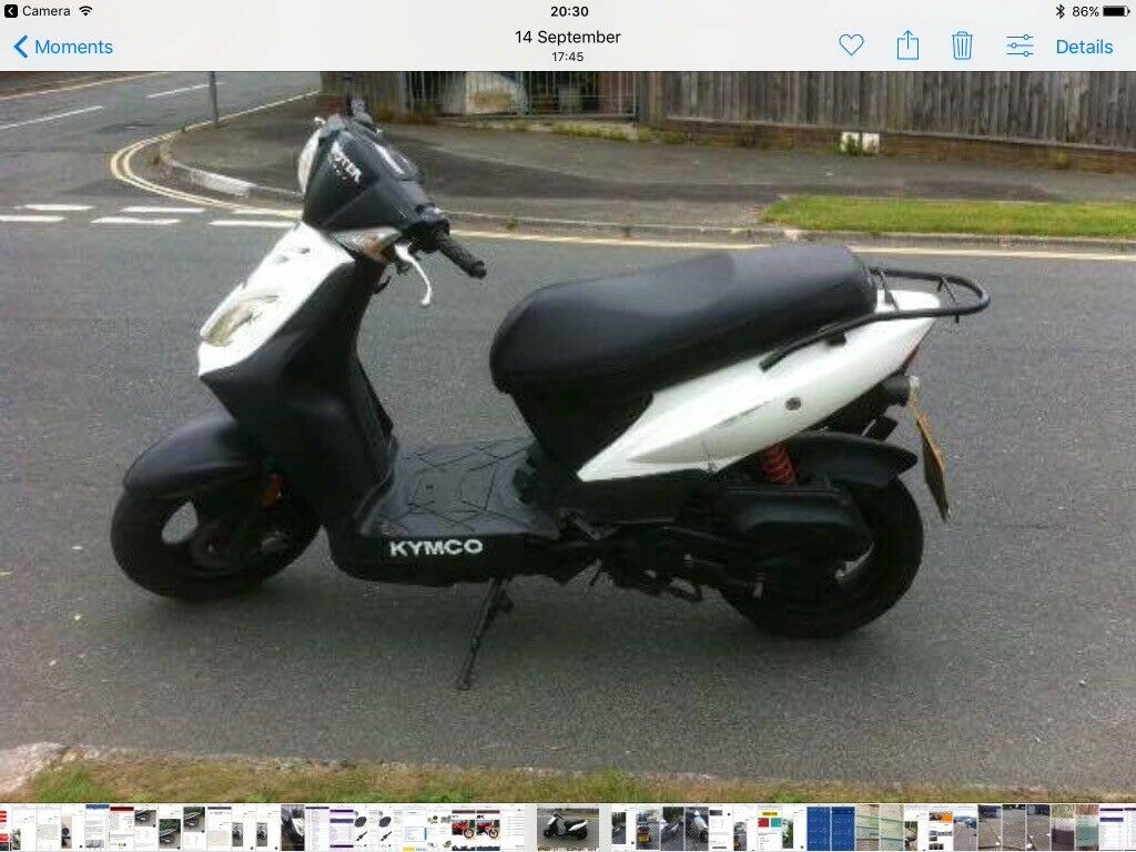 kymco dj50s 50cc scooter moped moterbike motercycle 2014. Black Bedroom Furniture Sets. Home Design Ideas