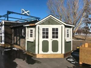 8' x 8' Corner Shed Storage Shed ~ Shed Solutions Calgary