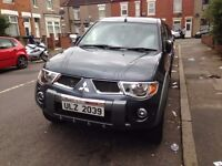 Mitsubishi L200 ANIMAL GREY FULLY LOADED £7495 PART EXCHANGE WELCOME