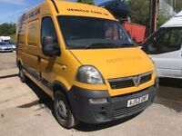 2004 Vauxhall Movano diesel van, starts and drives well, van located in Gravesend Kent, been sitting