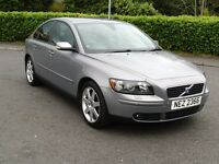 2005 Volvo S40 1.8 petrol FULL MOT, FULL LEATHER INTERIOR, GENUINE LOW MILES WITH PROOF