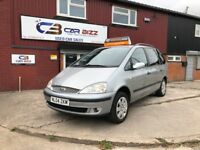 2004 FORD GALAXY ZETEC 2.3 PETROL AUTOMATIC*7 SEATER*TOW BAR*1 YEAR AA BREAKDOWN COVER*PARKING AID*