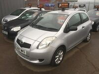Toyota Yaris 1.2 2007 reg, low miles, full mot, 6 months extendable warranty.