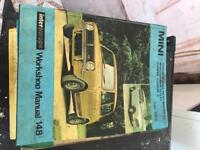 Vintage Workshop haynes manuals