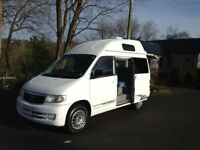 HI SPEC 2002 NEW SHAPE MAZDA BONGO HI TOP/LOW MILES WITH BIMTA CERTIFICATE/MAINS HOOK UP/2013 REG UK