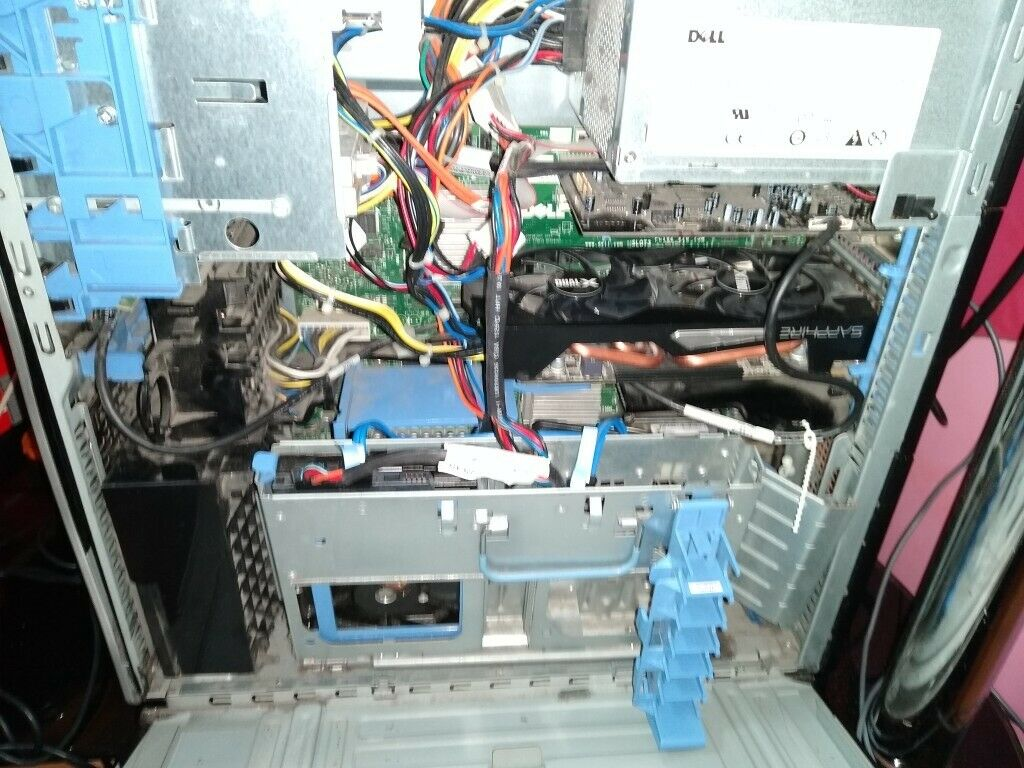 Dell T5400 Gaming PC, 8gb Ram, 2GB R9 270x, 500gb Sata, £100 | in Bordesley  Green, West Midlands | Gumtree