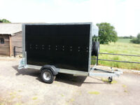 Karting Trailer Tickners GP 8' x 5' x 5' Box Trailer in Black