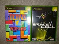 Xbox games splinter cell and Tetris worlds
