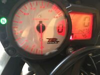 Suzuki GSXR K6 dials