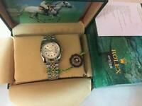 New Swiss Rolex Oyster Datejust Perpetual Automatic Watch, golden dial