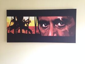 Scarface Limited Edition Canvas (1/100) – 1200mm x 575mm