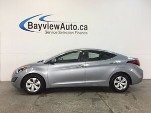 2016 Hyundai ELANTRA L- 1.8L|AUTO|ECO MODE|A/C|CRUISE|LOW KM!