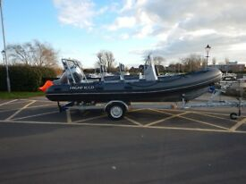 Highfield 590 RIB with 100hp Honda 2016 for Sale