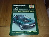 Haynes Peugeot 106 manual