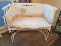 Baby Bedside cot/ Co sleeping cot