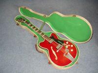Vintage 1960's Hofner Verithin Guitar