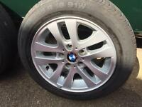 BMW 3 series alloy wheels E36 E46 E90 alloys with tyres