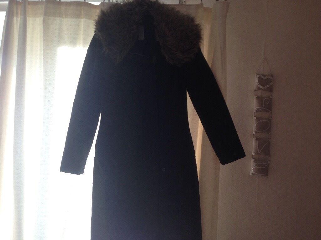 Ladies Fire trap black coat