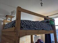 King Size free-standing Loft/Mezzanine Bed