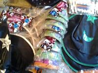 Several halloween party accessories for sale