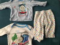 Baby boy clothes pyjamas (0-3months)