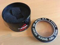 G Shock Tin with Clear Lid. Gshock Box Case Tough Solar Powered Casio Digital Watch G-Shock Storage