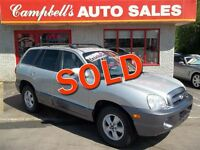 2006 Hyundai Santa Fe GLS SUNROOF!! HEATED LEATHER!! ALLOYS!! AI