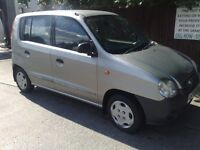 NICE SMALL HATCH! ONLY 61000 MILES! 50 MPG AND LOW INSURANCE HYUNDA ATOZ 1.0 RUNSGREAT 375 DRIVEAWAY