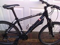 """Cube Mountain/Hybrid Bike 17 inch frame suitable for 5'6""""-5'9"""". Well used fully serviced"""