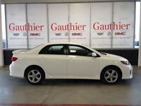 2012 Toyota Corolla S Sedan, Alloys, USB Port, Fog Lights