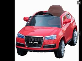 Kids ride on car Audi RRP £240.