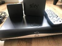 Sky HD+ Box with Sky HUB