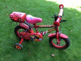 Fireman bike