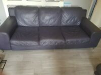 FREE! Large sofa and chair