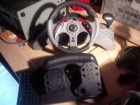 ps2 sterring wheel