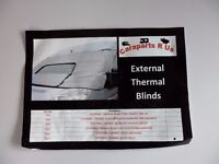 EXTERNAL THERMOSCREEN -SILVER- FOR CAMPERVAN