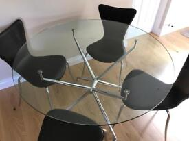 Dining /Kitchen table and four chairs
