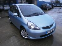 2007 HONDA JAZZ 1.4 DSI 5DOOR, HATCHBACK,LOW MILES 36K, SERVICE HISTORY, DRIVES LIKE NEW