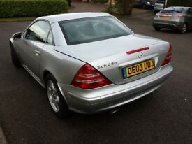 Mercedes-Benz SLK230 Kompressor 2dr Hard Top Convertible R170 Facelift. Perfect runner.