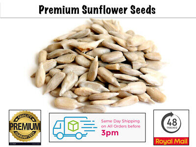 Sunflower Hearts 5Kg Wild Bird Food PREMIUM BAKERY GRADE Dehulled Kernels Seeds