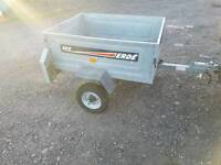 Erde 102 car tipping trailer ideal for camping tip runs etc