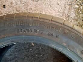 235/45 R17 Car tyre