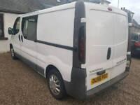 2006 Vauxhall Vivaro Crew Cab