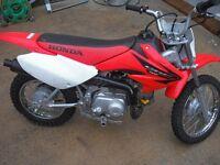 2005 honda crf 70 4 stroke good condition running well £750 ono