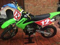 Kawasaki kx 85 2007