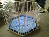 Lindam Playpen for sale hardly used