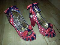 Ladies Irregular Choice Shoes