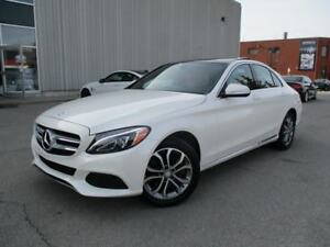 2015 Mercedes-Benz C-Class C300 4MATIC NO ACCIDENTS FULLY LOADED