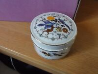 Sadler Ceramic Trinket Box